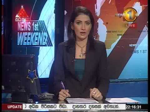 News 1st Prime time 10PM Sirasa TV 21st December 2014
