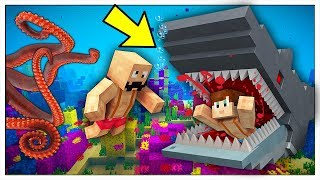 HOW TO SURVIVE IN THE MOST DANGEROUS OCEAN IN MINECRAFT!