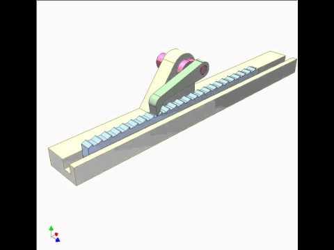 Ratchet mechanism 6 - YouTube