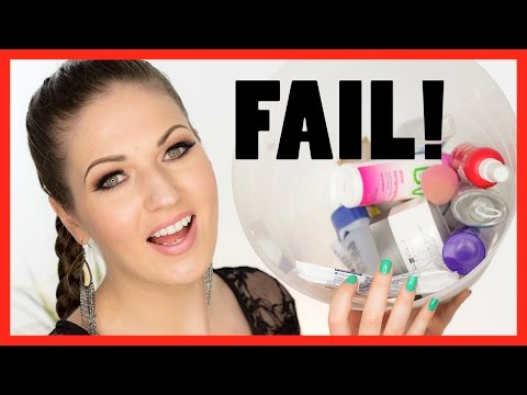 TOTAL FAIL PRODUCTS!! Products I Regret & Empties