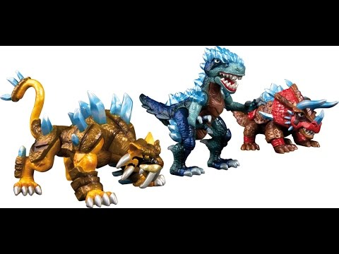 Dinofroz Dinogate Gladius Neceron Dinofroz T-Rex Smilodon enfants jouets dessins animés Jeu