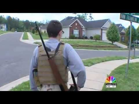 Man Walks Neighborhood With Rifle, Anti-Gun Neighbor Hysterical Despite Drop In Crime