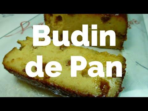Budin de Pan Receta Fácil