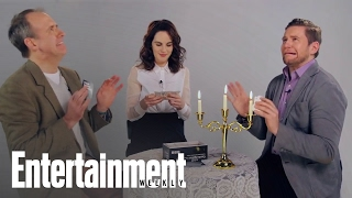 Downton Abbey: Michelle Dockery & More Play Cards Against Humanity | Entertainment Weekly