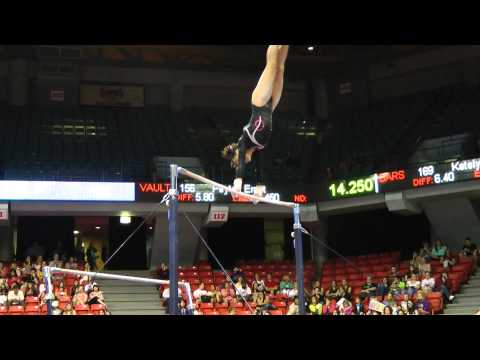 Amelia Hundley - Uneven Bars - 2012 Secret U.S. Classic