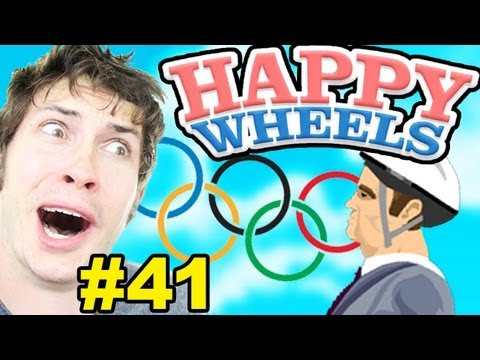 Happy Wheels - THE OLYMPICS! - Part 41