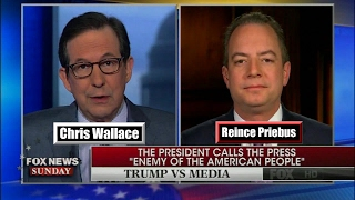 Reince Priebus Defends Trump's Press is the