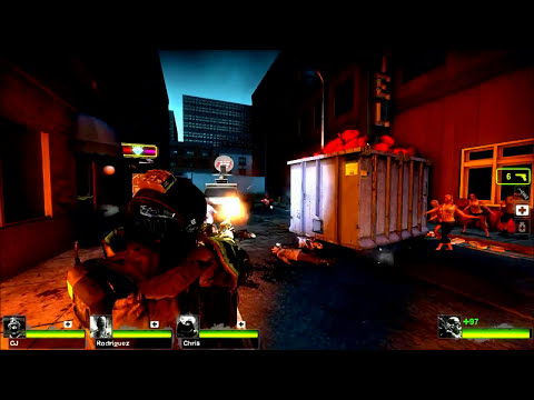 Left 4 Dead 2 Modern Warfare Swat mod