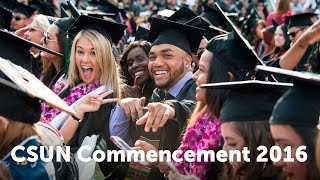 CSUN Commencement2016: Health & Human Development