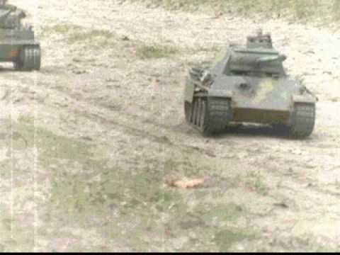 Panzer auf dem Marsch Teil 2 RC tanks
