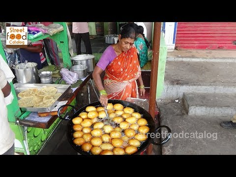 Mysore Bonda Recipe | Instant Breakfast Recipe | Simple & Easy Snacks | Indian Street Food