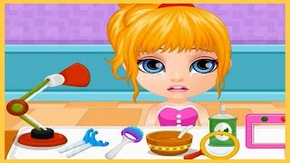 Watch Baby Barbie in Throat Doctor Game Episode-Baby