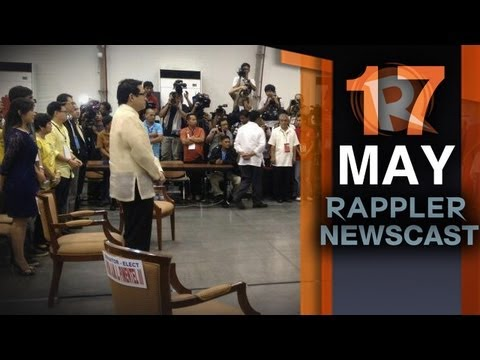 Rappler Newscast | May 17, 2013