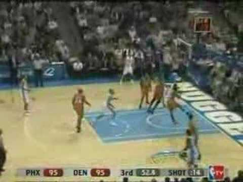Allen Iverson 31pts vs Steve Nash Stourdemire Suns 07/08 NBA