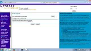 03. Netgear Router Updating Firmware Manually For WNR2000V3 (Version 3) N300 Wireless Router