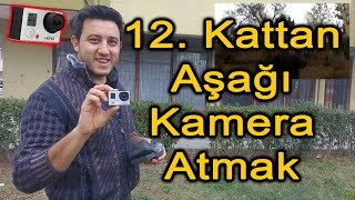 GoPro yu 12. Kattan Aşağı Attık │i threw the go pro down from the 12th floor high