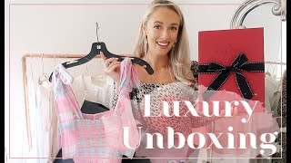 UNBOXING BEAUTIFUL THINGS // Zimmerman, LoveShackFancy & Valentino | Fashion Mumblr