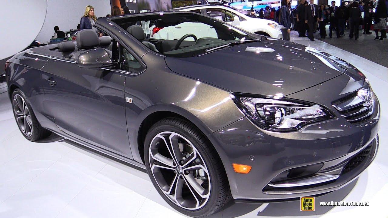 2016 buick cascada convertible exterior and interior walkaround 2015 detroit auto show youtube