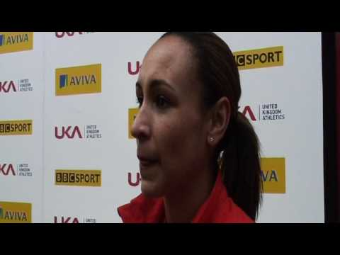 Aviva 2012 Trials - Jess Ennis 100mh & High Jump Women's Final