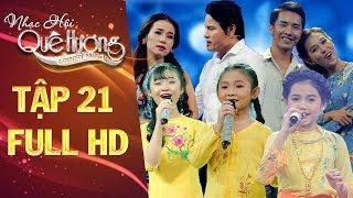 Nhạc hội quê hương | tập 21 full: Nghi Đình, Hiền Trân, Linh Phương đưa khán giả đến 3 miền đất nước