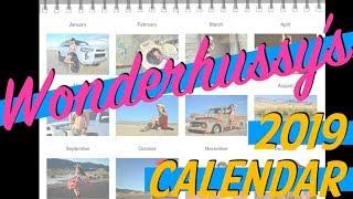 Wonderhussy's 2019 Calendar