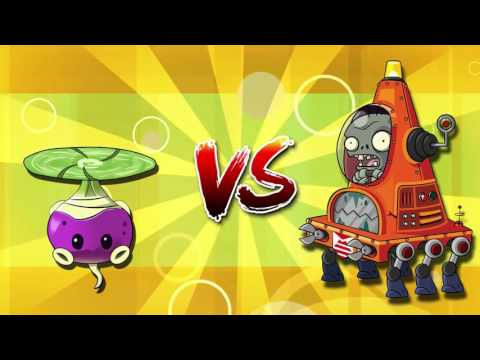 Plants vs. Zombies 2 it's about time: Every Plant Power Up vs Robo Cone Zombie : PART 3