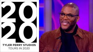 Tyler Perry Studio Tour Dates Will Be Annouced In 2020