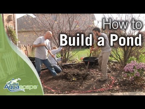 """NEW"" How To Build a Pond"