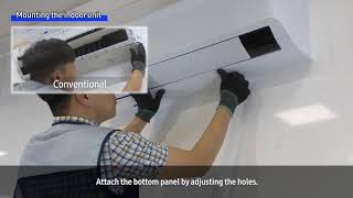 01. [SAMSUNG][English] Residential Airconditioner AR9500T Step-by-Step Installation Guide ver2