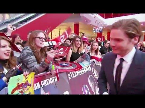 Captain America: Civil War - European Premiere Highlights | HD