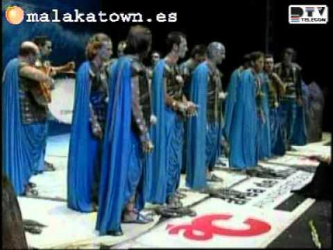 LA MAR BRAVIA comparsa Gran Final Carnaval Málaga 2005