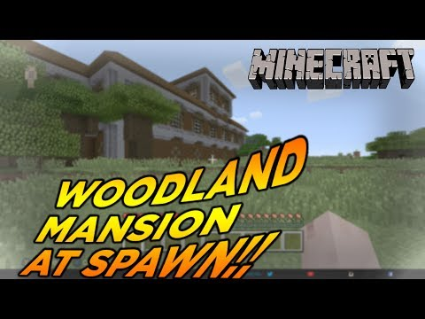 Minecraft Xbox One/PS4 TU54 [] WOODLAND MANSION AT SPAWN SEED!!