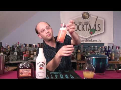 Lava Lamp Cocktail