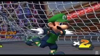 Super Mario Strikers - GameCube Gameplay (720p60fps)