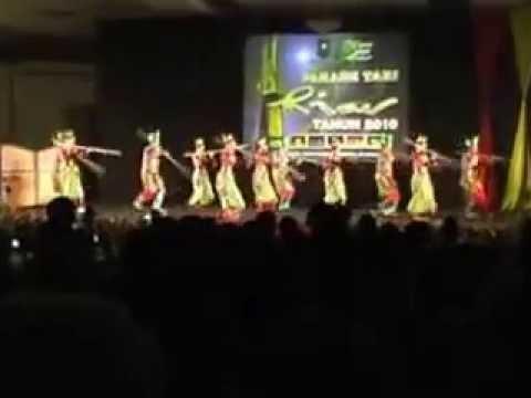 Parade Tari Daerah Riau 2010 (kab Siak) video