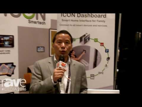 CEDIA 2016: ICON Smartech Features Icon Dashboard Smart Home Interface for Family