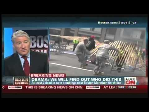 Boston Marathon Bombings News Coverage (April 15, 2013, 6:19 PM)