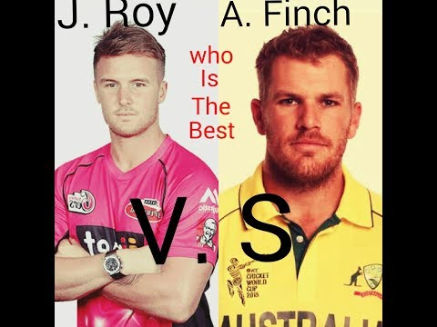 Jason Roy Vs Aaron Finch highlights Match  2018