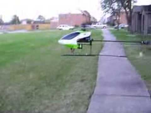 Falcon 40 First outdoor flight in the wind