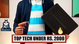 Top 10 Tech Gadgets Accessories and DIY Tools Under Rs. 2000