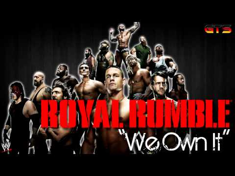 2014: Wwe Royal Rumble - Theme Song - we Own It [download] [hd] video