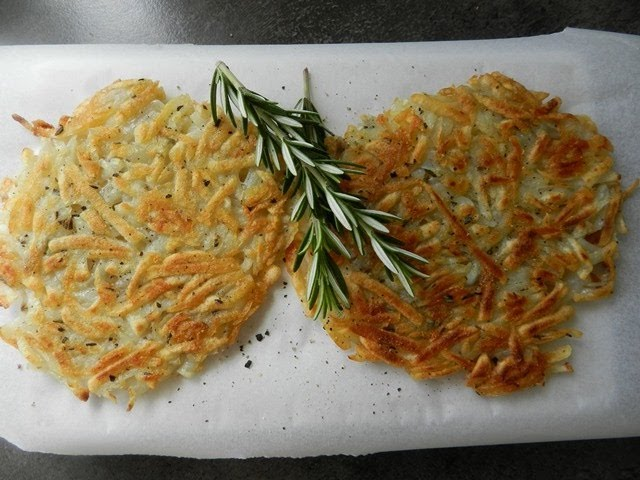 How to make a Potato Rosti (Potato Pancake)