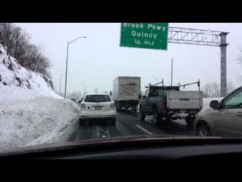 Just Another Commute In Boston This Winter