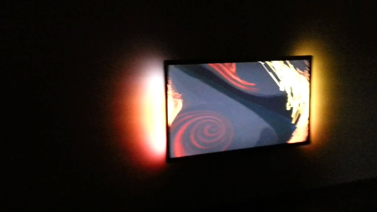 Самодельная фоновая подсветка телевизора от USB 17