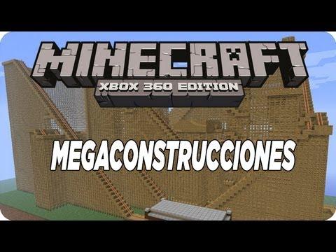 MineCraft Xbox360 - MegaConstrucciones #26 ¡Parque De Diversion!