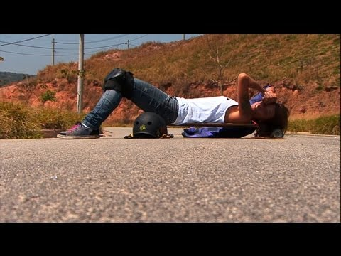 Sector 9 - Skate Downhill with Reine Oliveira