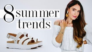 8 Summer FASHION TRENDS Worth Trying in 2019!