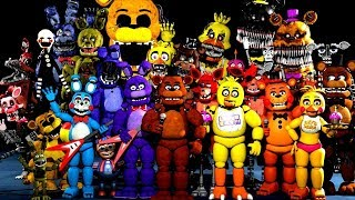 FNAF Characters Sing The FNAF Song