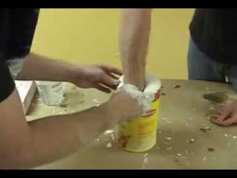 Lifecasting: Hand Mold with Accucast 380