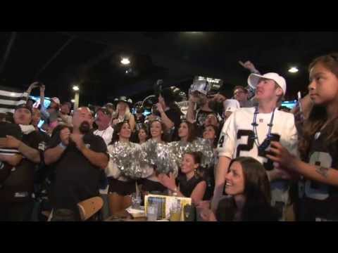 Oakland Raiders Official NFL Draft Party 2013